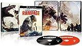 Rampage [SteelBook] [4K Ultra HD Blu-ray/Blu-ray] [2018]