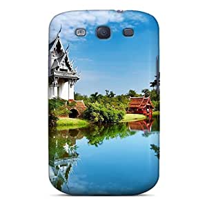 Brand New S3 Defender Case For Galaxy (beautiful Architecture Of China)