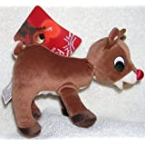 """Plush 5"""" Rudolph the Red Nosed Reindeer Doll"""