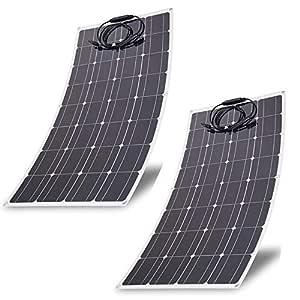 blackpoolal 2 x 100 W Módulo Solar Panel Solar Panel Solar ...
