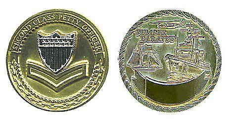 Coast Guard Petty Officer 2nd Class Challenge Coin