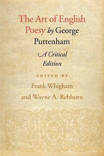 The Art of English Poesy, Critical Edition