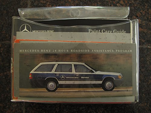 1990 Mercedes Benz 300TE Owner's Kit- Manual/Parts Catalog/Stereo Guide/Maintenance Booklet, Etc.