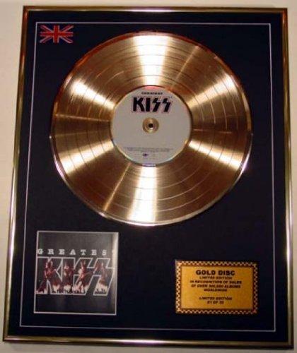 KISS//Goldene Schallplatte Record Limitierte Edition//GREATEST HITS