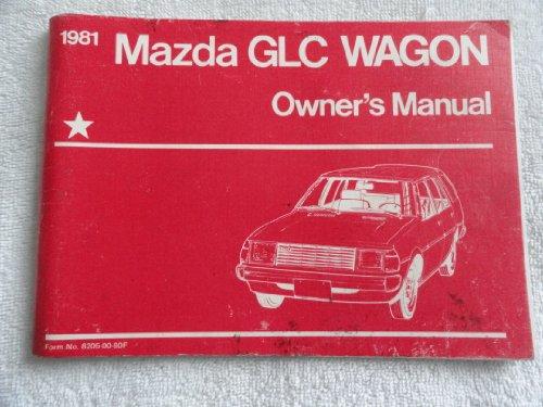 1981 Mazda GLC Wagon Owners Manual ()