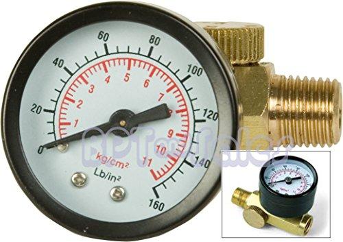 New Air Pressure Regulator w/Gauge 150PSI Air Tool Regulator 1/4 NPT Air Tool by Gener
