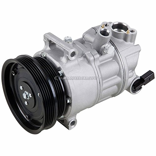 AC Compressor & A/C Clutch For VW Golf GTI Jetta Passat New Beetle Rabbit Audi TT RS - BuyAutoParts 60-02113NA NEW (Vw Ac Compressor)