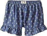 People's Project LA Kids Girl's Hanny Shorts (Big Kids) Dark Blue Shorts