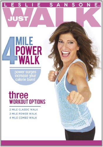 Leslie Sansone: 4 Mile Power Walk (Power Starz Dvd)