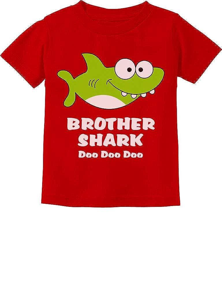 Brother Shark Doo Doo Gift for Big Brother Toddler Kids T-Shirt Tstars
