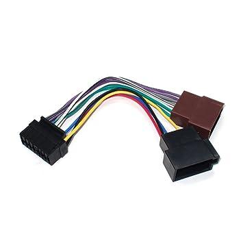 maxxcount Autoradio Kabel Radio Adapter Stecker DIN ISO: Amazon.de ...