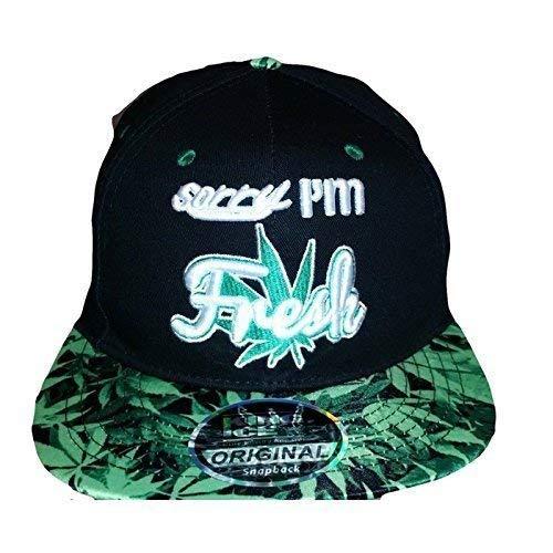 con diseño visera leaf de plana unisex con Ice de Sorry marihuana plantas de King fresh im Gorra 0wYxq