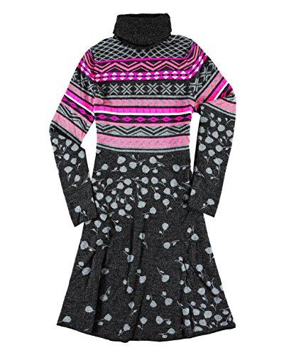 Silk Blend Sweater Dress (Krimson Klover Sweet Destiny Sweater Dress - ( Fuchsia, Medium ))