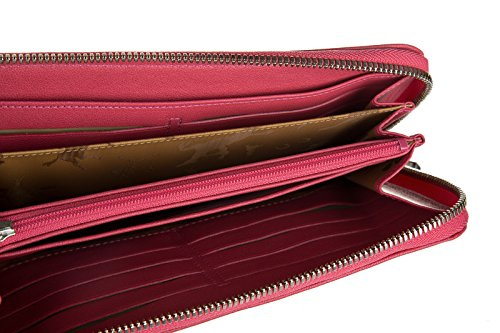 Longchamp monedero cartera bifold de mujer nuevo rosa ...