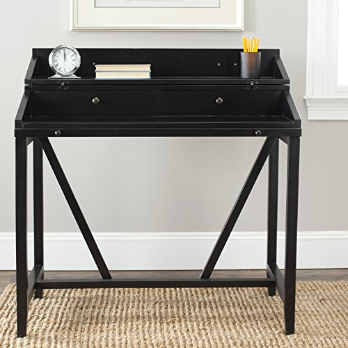 Safavieh American Homes Collection Wyatt Black Writing Desk ()
