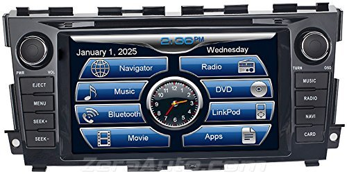 2013 2014 2015 Nissan Altima In-Dash Navigation Stereo DVD C