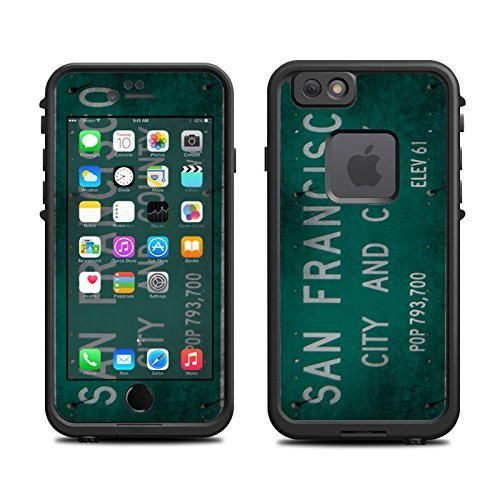 Skin for Lifeproof 6 Case (skins/decals only) – San Francisco Sign City Street Sign (101 Street Sign)