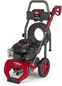 Briggs & Stratton 3100 MAX PSI at 2.1 GPM Gas Pressure Washer with 30-Foot Hose, 7-IN-1 Nozzle, and PowerFlow + Technology