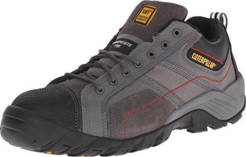 Caterpillar Argon Composite Toe Work Shoe Men 7.5 Dark Grey (Caterpillar Shoes Man)