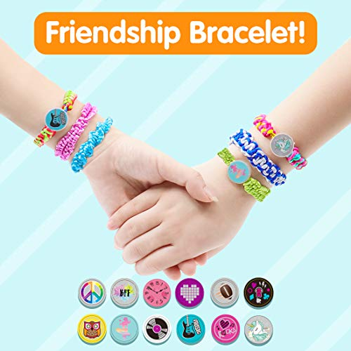 VERTOY Friendship Bracelet Making Kit for Girls – Cool Arts and Crafts Toys for 6 7 8 9 10 11 12 Years Old, Bracelet…