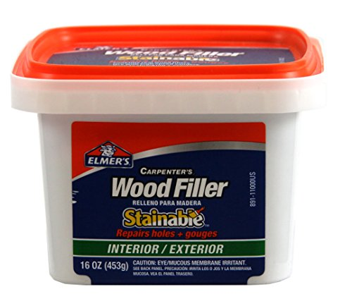 Elmer 39 S E891 16oz Capenter 39 S Stainable Interior Exterior Wood Filler Nielsen Wood Working