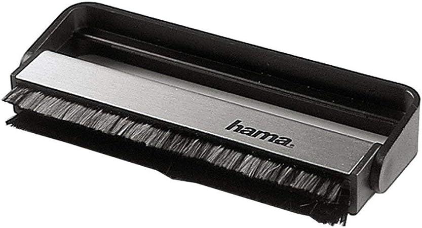 Hama Carbon Faserbürste Für Langspielplatten Schwarz Elektronik