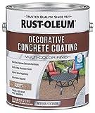 Rust-Oleum 301303 Decorative Concrete Coating, Sunset