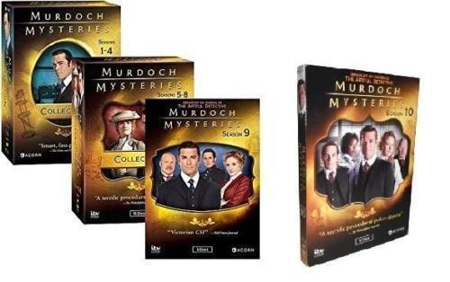 Murdoch Mysteries: The Complete Series Seasons 1-10 DVD Set LaMarca