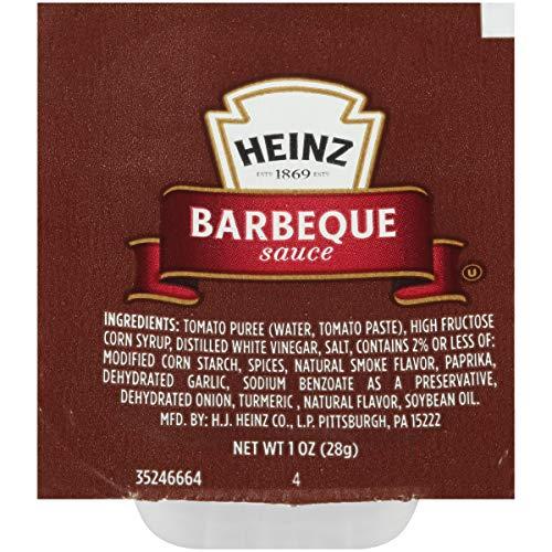 Heinz Barbeque Sauce Single Serve (1 oz Dunk Cups, 100 Count)