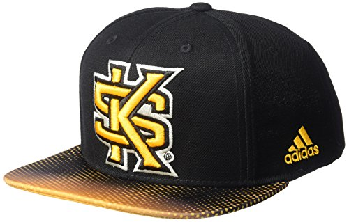 adidas NCAA Western Michigan Broncos Men's Dotted Snapback, Black, One Size ()