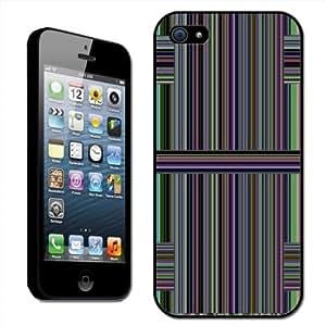 Fancy A Snuggle - Carcasa rígida para Apple iPhone 5, diseño entrelazado