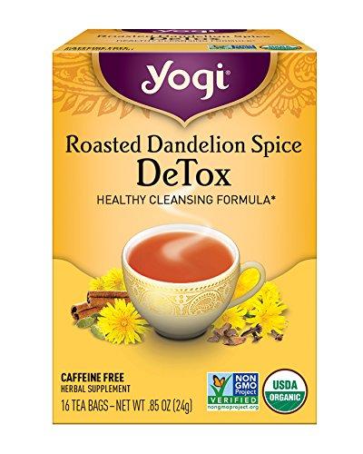Yogi Roasted Dandelion Spice Packaging product image