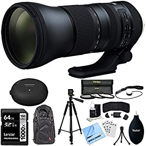 Tamron SP 150-600mm F/5-6.3 Di VC USD G2 Zoom Lens w/ Bundle