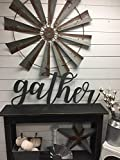 Gather Sign-Wood Gather Sign-Wood Wall Decor