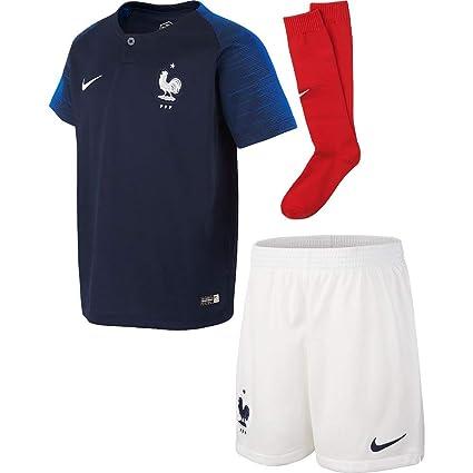 9a82a29351f93 Amazon.com: Nike France Home Infant Kit 2018/2019-116-122 cm: Clothing
