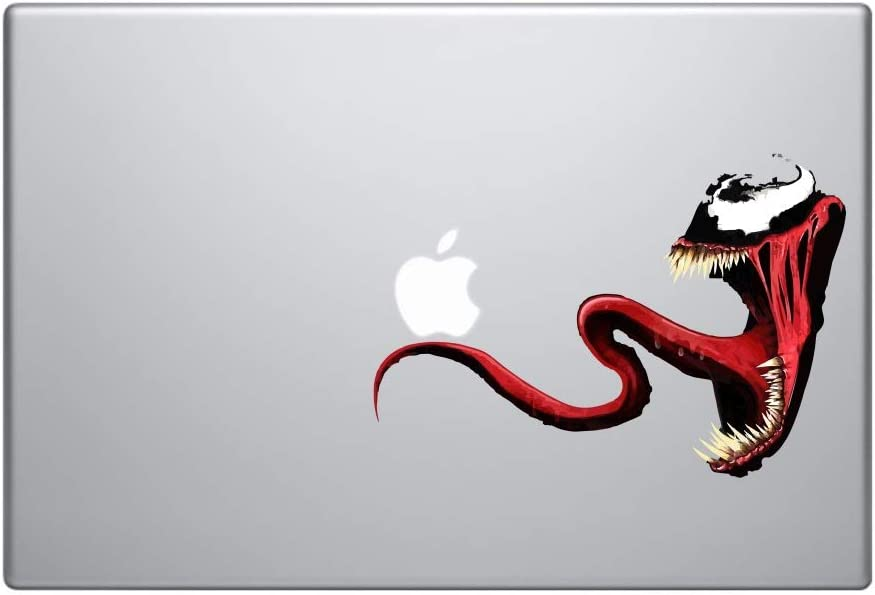 A&B Traders Marvel Avengers Inspired Venom decal Sticker Car Decals Venom Stickers Creepy Vinyl Decal Stickers Scary Horror Movies Halloween Stickers for Cars, Laptops, Vans Sticker superhero Stickers