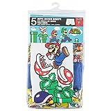 Handcraft Little Boys' Nintendo Mario 5pk Boxer