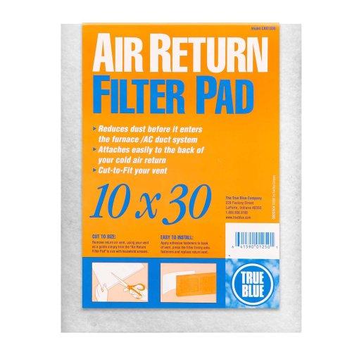 True Blue Cold Air Return Filter Pad, - Cold Filters Return Air