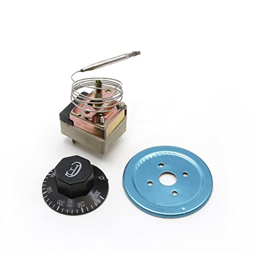 AC 250 V 16 A 50 - 300 °C termostato controlador de temperatura NC ...