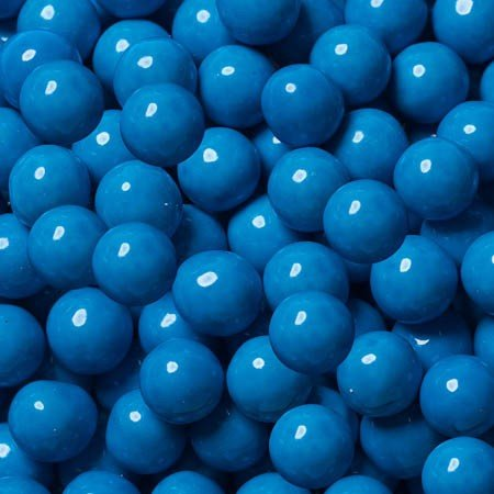 FirstChoiceCandy Sixlets Milk Chocolate Balls (Blue, 1 LB) Chocolate Balls Candy