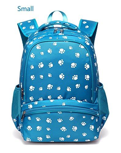 Kids Backpacks for Little Girls Kindergarten Preschool School Bags Bookbags for Children (Small,Blue) - Kid Book Bag