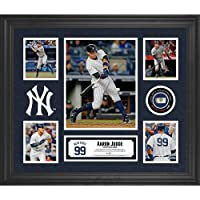 """Aaron Judge New York Yankees Framed 20"""" x 24"""" 5-Photo Collage with a Piece of Game-Used Baseball - Fanatics Authentic Certified"""