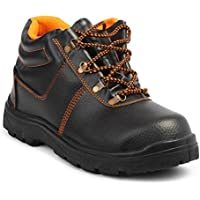 Neosafe Spark A5005 Labour Safety Shoes, Black, Size 8