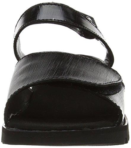 black Mujer Sandalias Negro 114664 Kickers Hg87nz8x