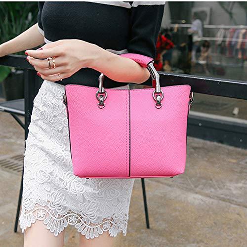 Sac Sac Pink Messenger PU Bag la bandoulière femmes mode sac main à à bandoulière de de à des HSqwH7Bn