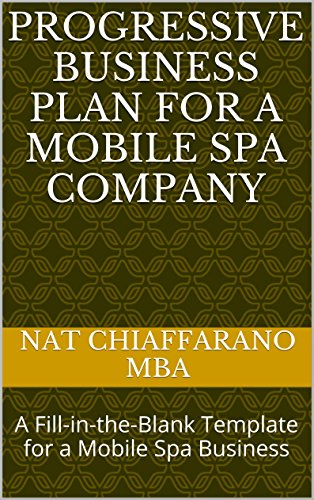 Mobile spa business plan