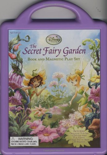The Secret Fairy Garden: A Magnetic Playset (Book and Magnetic Play Set) PDF