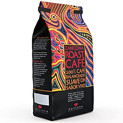 Zancona Medium-Roast Whole Bean Panamanian Coffee Blend, 100% Ethical Arabica Beans