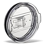 JASSINS 2 Replacement Lids for 30oz Stainless Steel Tumbler Travel Cup - Fits Yeti Rambler RTIC and others