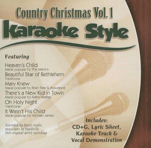 Country Christmas Volume - Country Christmas, Volume 1 Karaoke Style